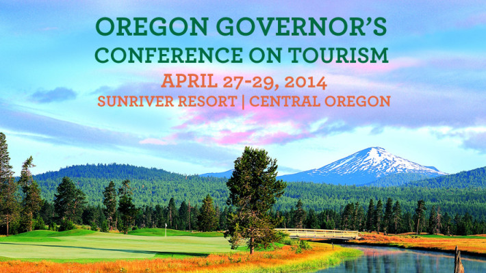The 2014 Oregon Governor's Conference on Tourism will be held in Sunriver, Ore.