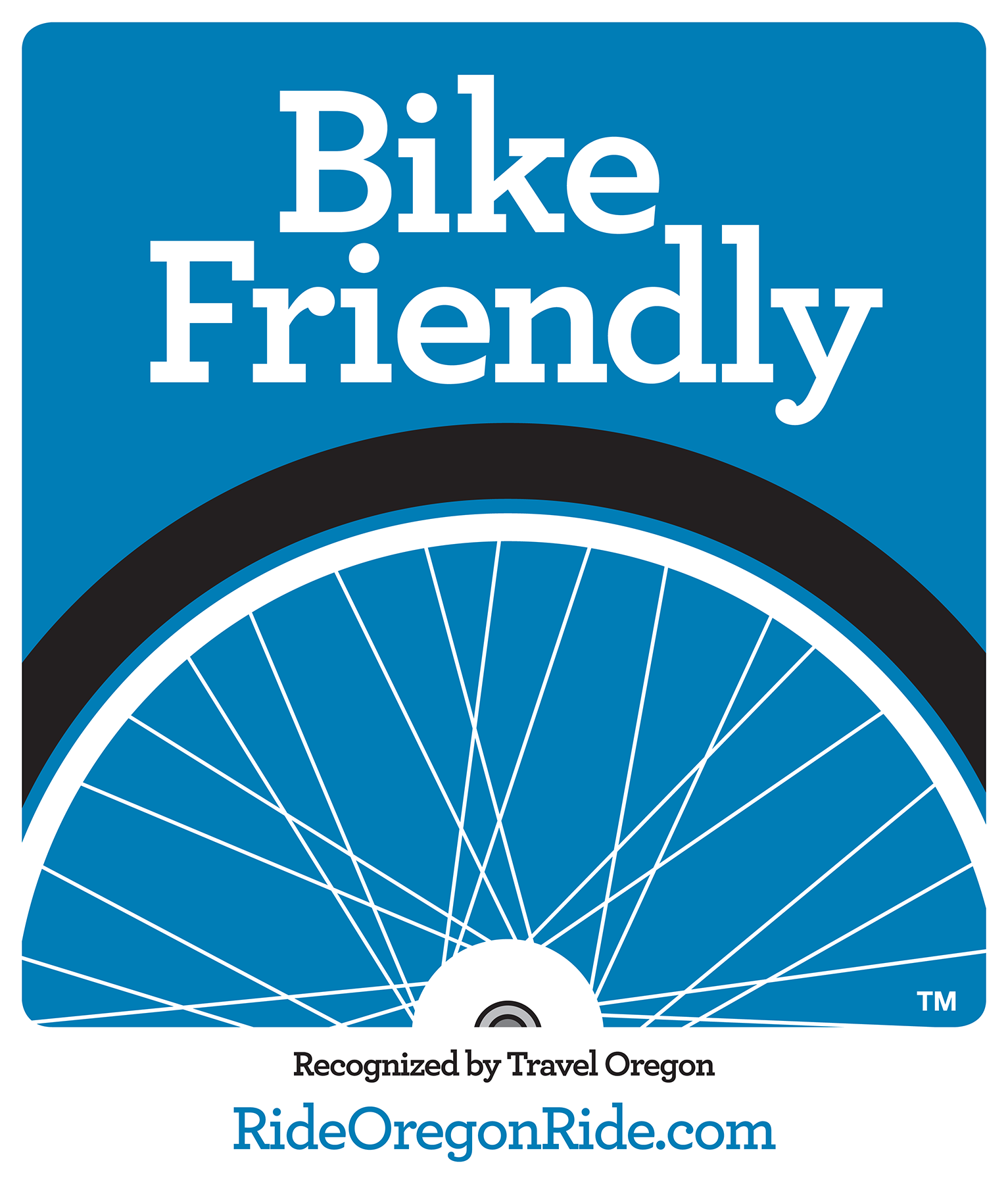 Travel Oregon Bike Friendly graphic no icons