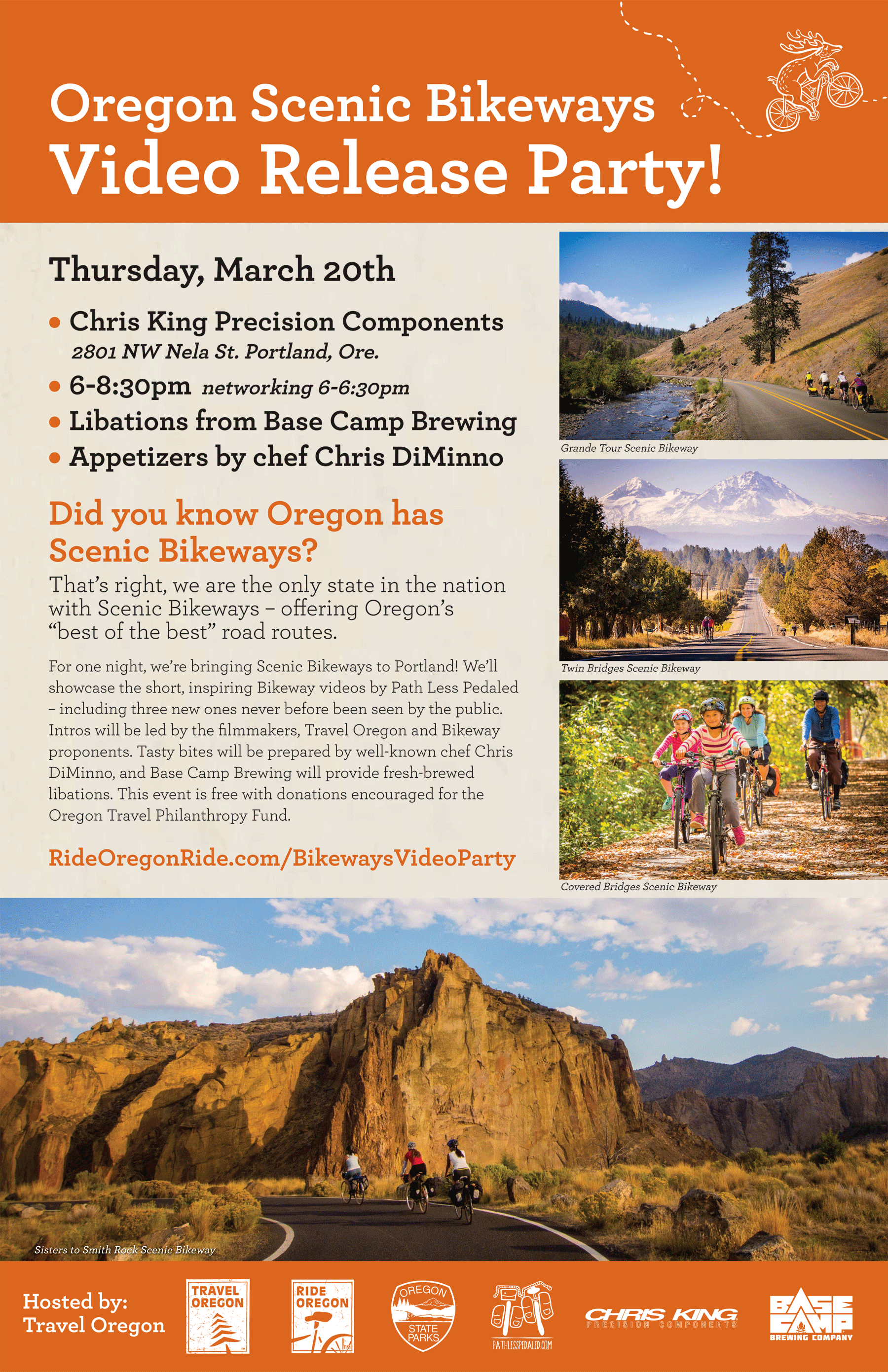Travel Oregon video release party!