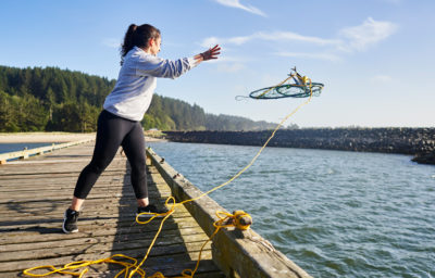 Photo of crabbing in Coos Bay by Justin Myers