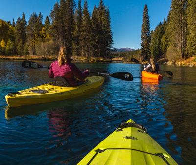 Kayaking at Jackson Kimball Park by Kamrin Nielsen