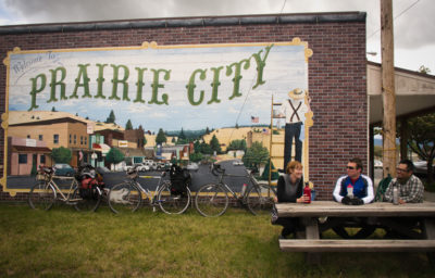 Prairie City Mural by Russ Roca