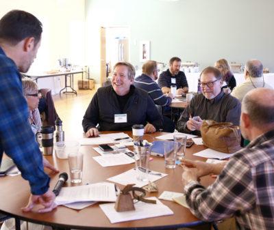 Photo of a regional meeting in Tillamook