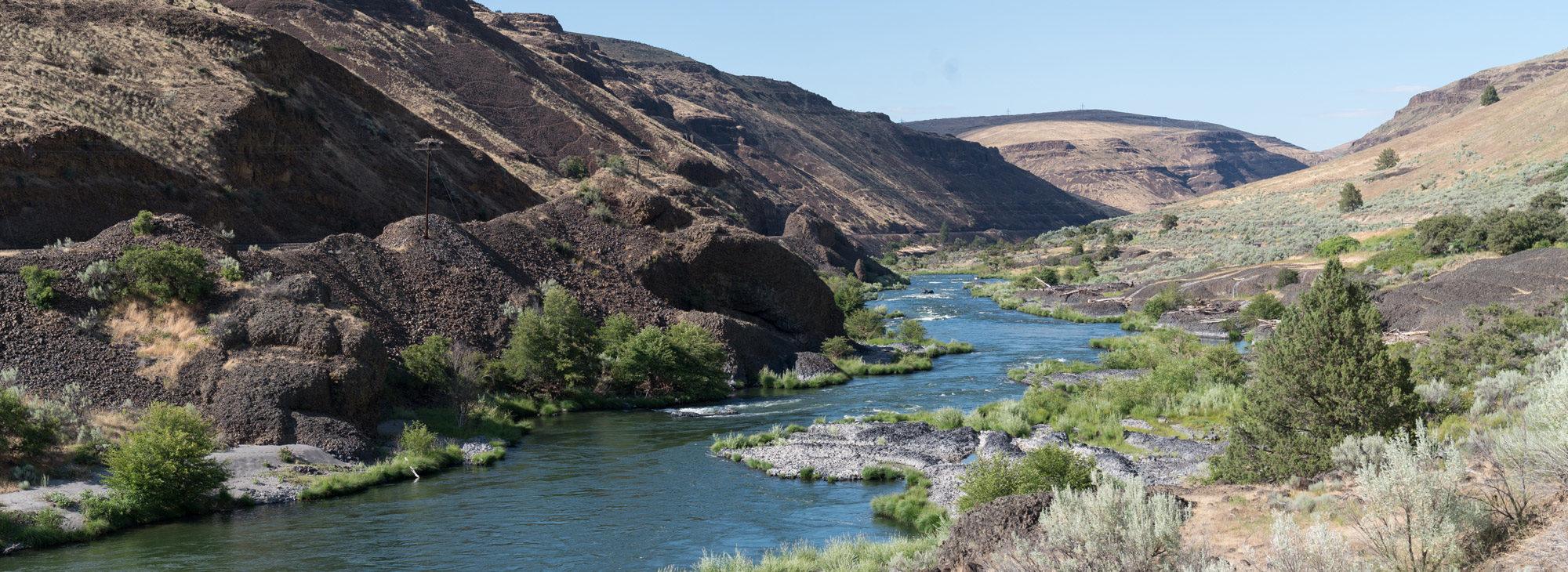 Deschutes River near Maupin