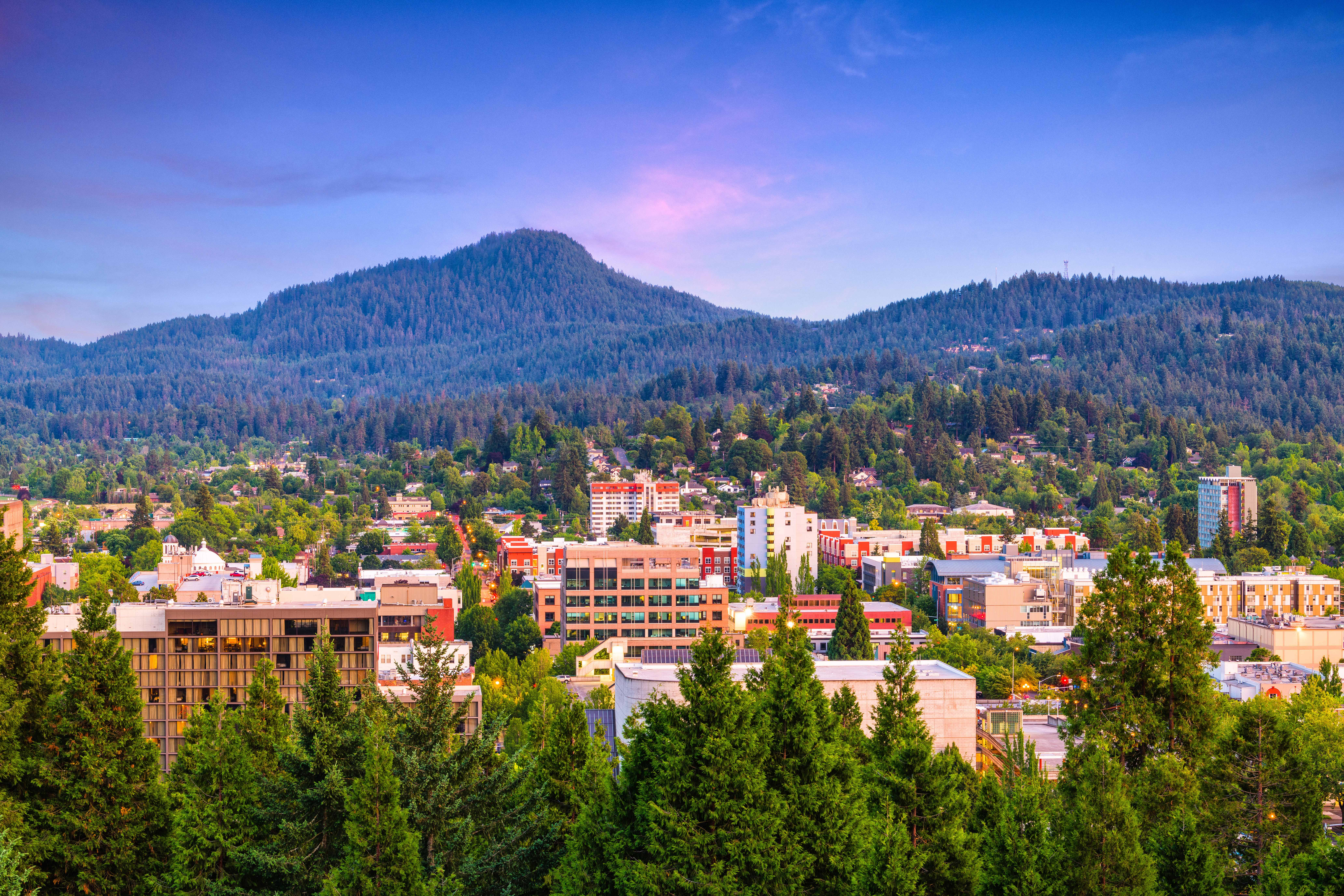 Picture of the Eugene Cityscape
