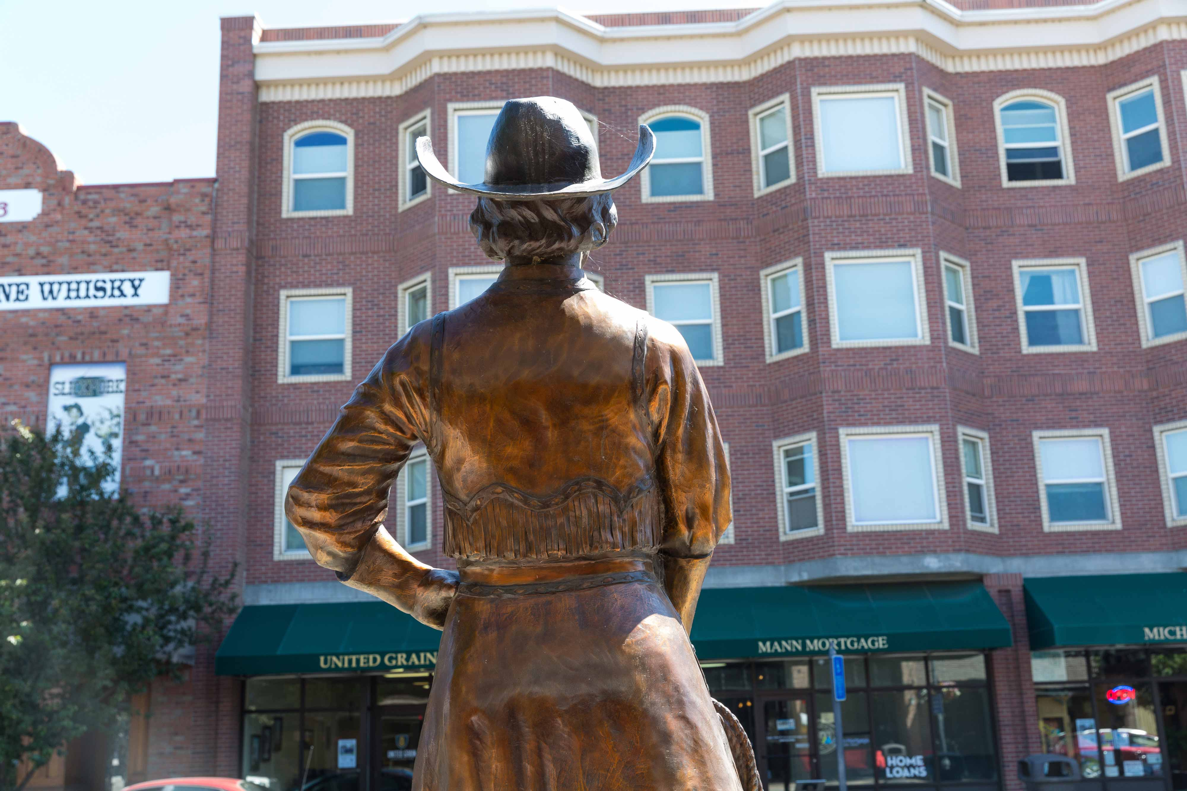 Photo of downtown Pendleton
